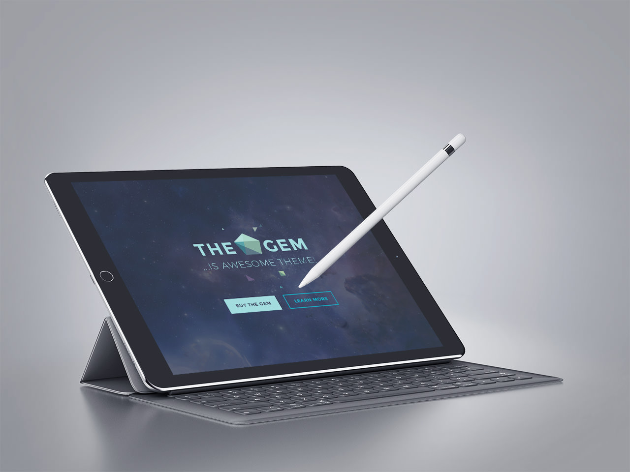 iPad Pro Smart Keyboard 1 - WIth Right Sidebar (Demo)