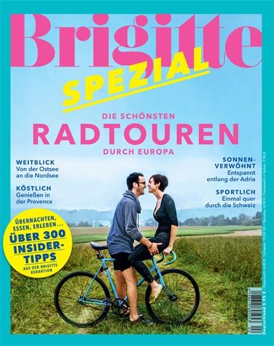 Cover Brigitte Spezial Radtouren durch Europa - Radtouren durch Europa
