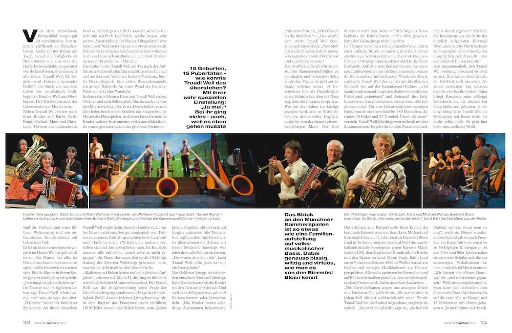 kulturreportage musik familie well brigitte woman 10 2012 s 02 3 - Kulturreportage: Gut eingespielt