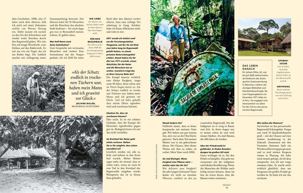 magazin anders handeln heft 03 2020 juliane koepcke diller interview02 von doris ehrhardt textett muenchen 1024x652 - Interview: Juliane Koepcke über Durchhaltewillen