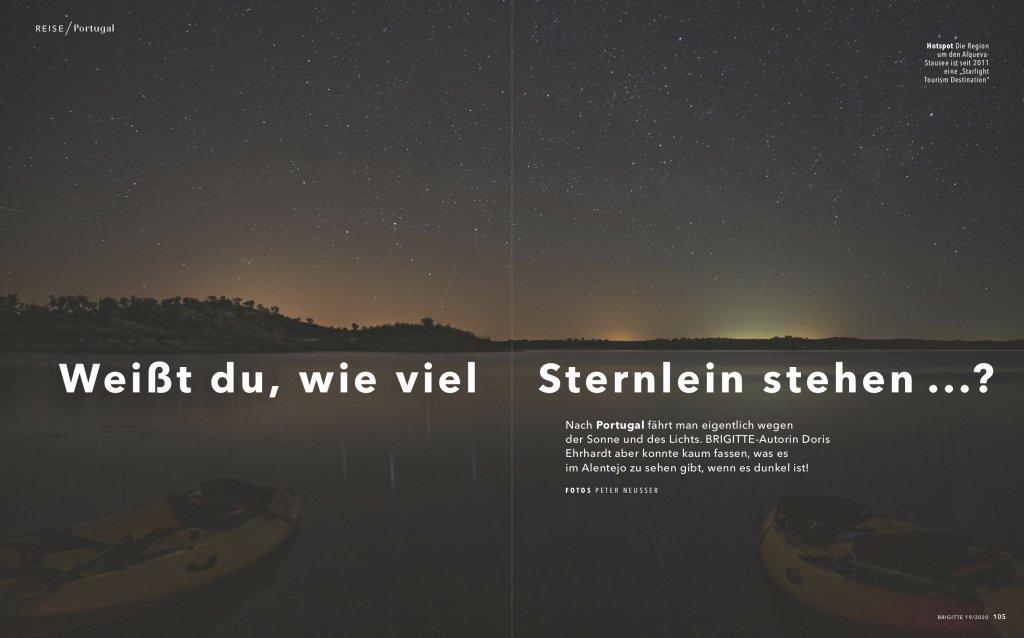 magazin brigitte 19 2020 reise reportage portugal alentejo astrotourismus01 doris ehrhardt textett portfolio muenchen 1024x638 - Sterne beobachten in Portugal