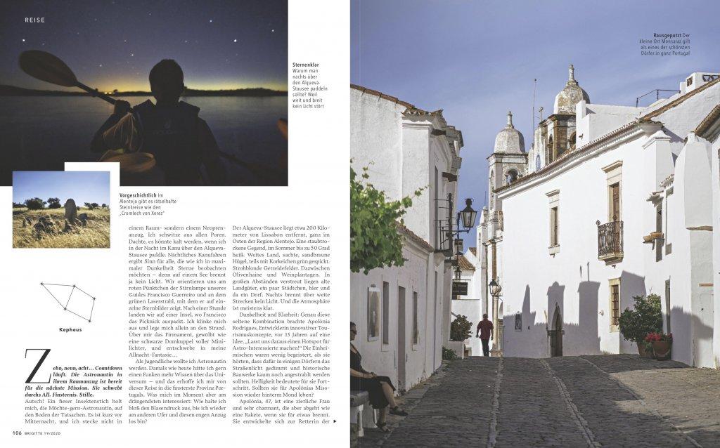 magazin brigitte 19 2020 reise reportage portugal alentejo astrotourismus02 doris ehrhardt textett portfolio muenchen 1024x638 - Sterne beobachten in Portugal