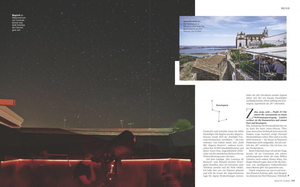 magazin brigitte 19 2020 reise reportage portugal alentejo astrotourismus04 doris ehrhardt textett portfolio muenchen 1024x638 - Sterne beobachten in Portugal