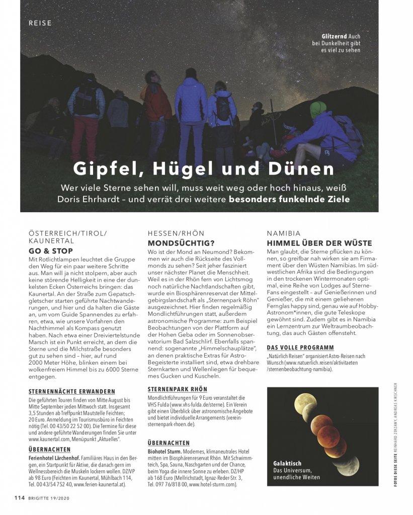 magazin brigitte 19 2020 reise reportage portugal alentejo astrotourismus07 doris ehrhardt textett portfolio muenchen 821x1024 - Sterne beobachten in Portugal