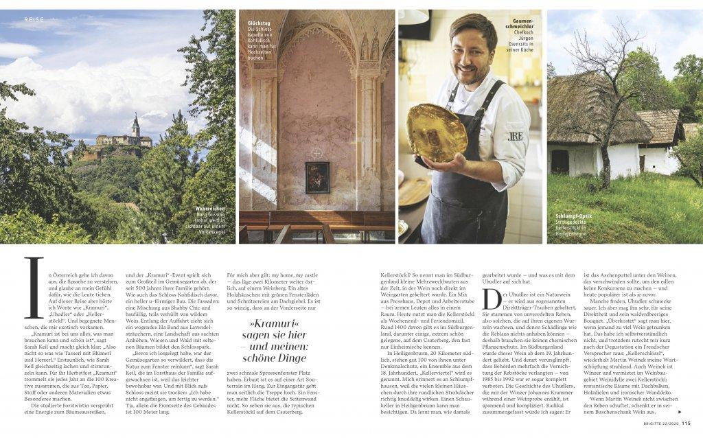 magazin brigitte 20 2020 reise reportage suedburgenland oesterreich radtour02 doris ehrhardt textett portfolio muenchen 1024x638 - Radeln im Burgenland