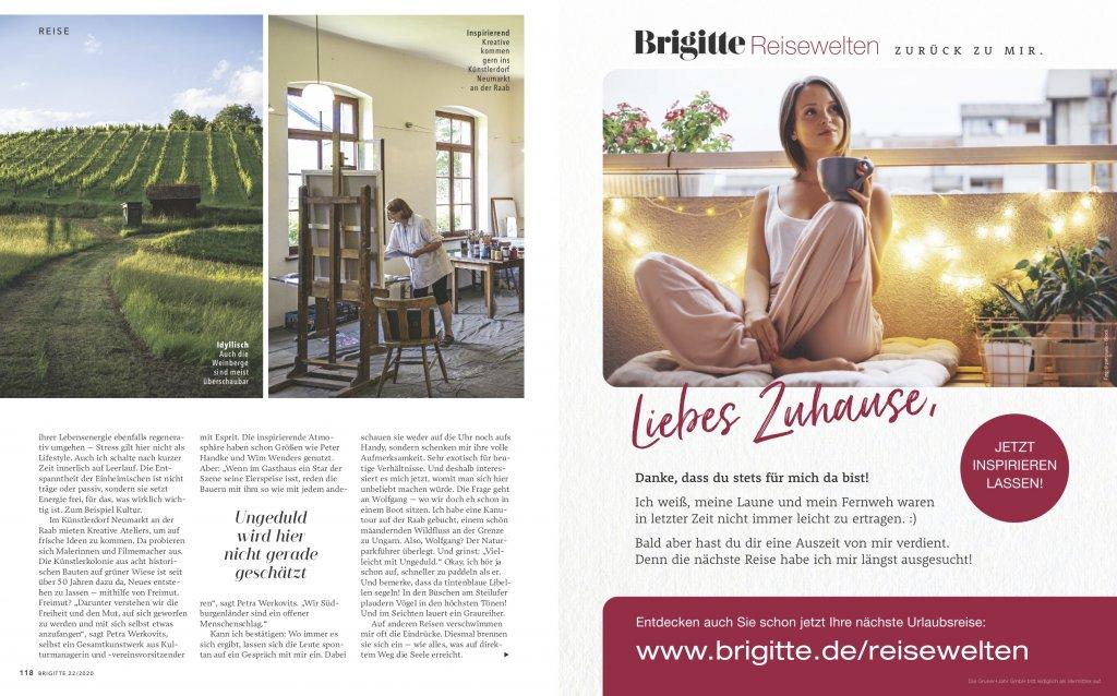 magazin brigitte 20 2020 reise reportage suedburgenland oesterreich radtour04 doris ehrhardt textett portfolio muenchen 1024x638 - Radeln im Burgenland