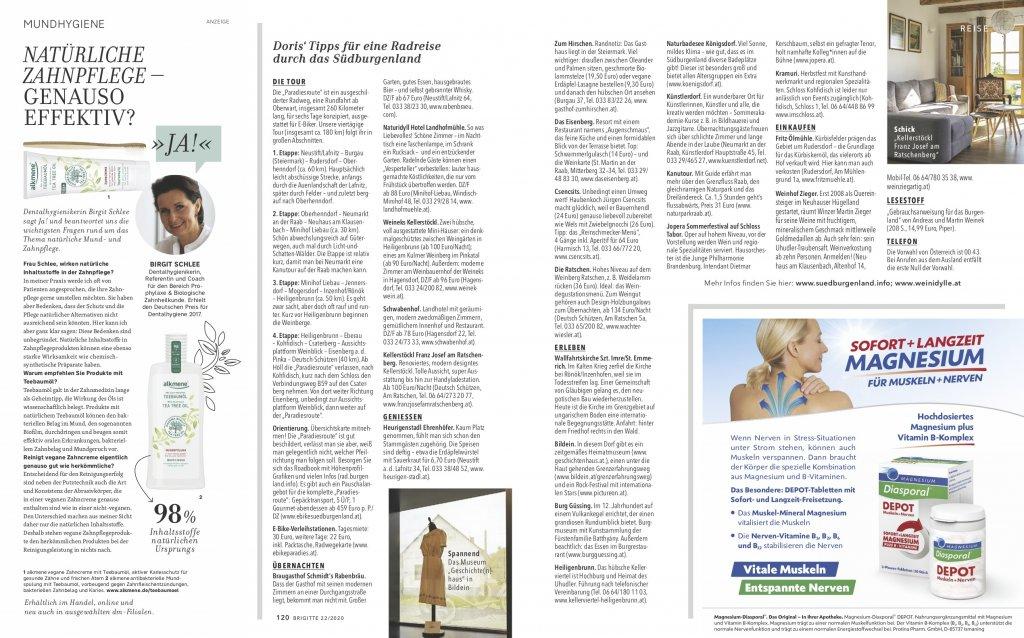 magazin brigitte 20 2020 reise reportage suedburgenland oesterreich radtour05 doris ehrhardt textett portfolio muenchen 1024x638 - Radeln im Burgenland