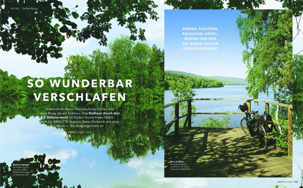 reise reportage suedboehmen lipno Stausee s 01 1024x638 - Radtour durch den Böhmerwald
