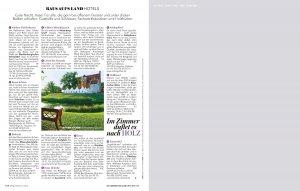 supplement raus aufs land beilage in zeitschrift brigitte s 04 300x191 - Projektbeispiel Supplement Raus aufs Land Beilage in Zeitschrift Brigitte 2011-S-04