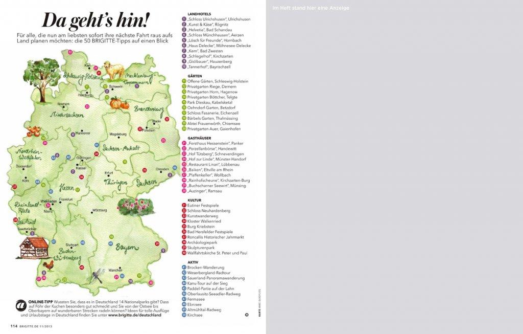 supplement raus aufs land beilage in zeitschrift brigitte s 09 1024x653 - Raus aufs Land